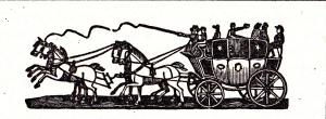 Advert header for the Regent coach 1822