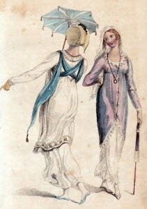 Promenade Dresses Ackermann's Repository August 1809