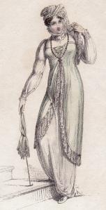 Promenade Dress Ackermann's Repository 1812