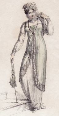 Promenade Dress Ackermann's Repository 1812