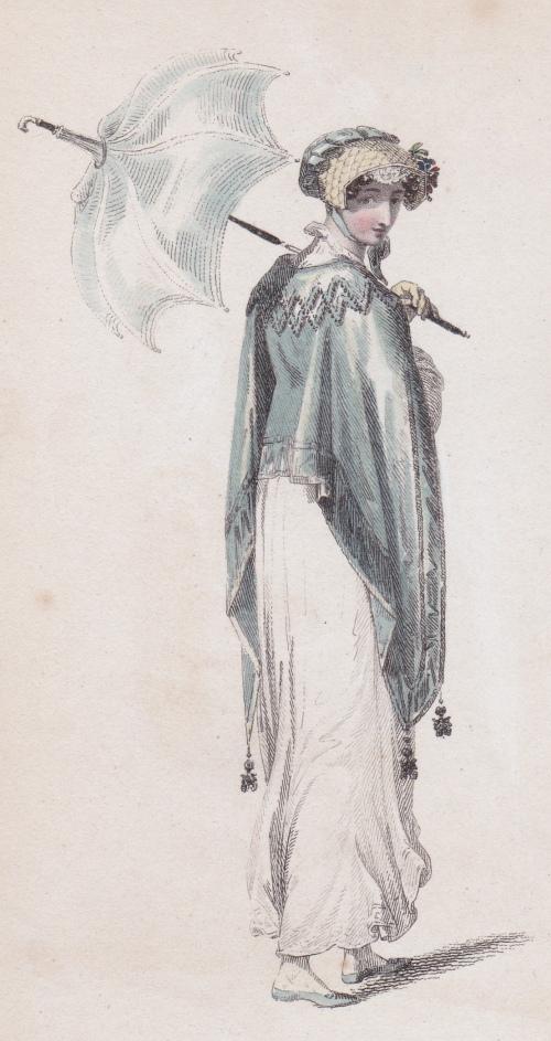 Morning Walking Dress Ackermann's Repository 1813