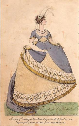 1808 court dress