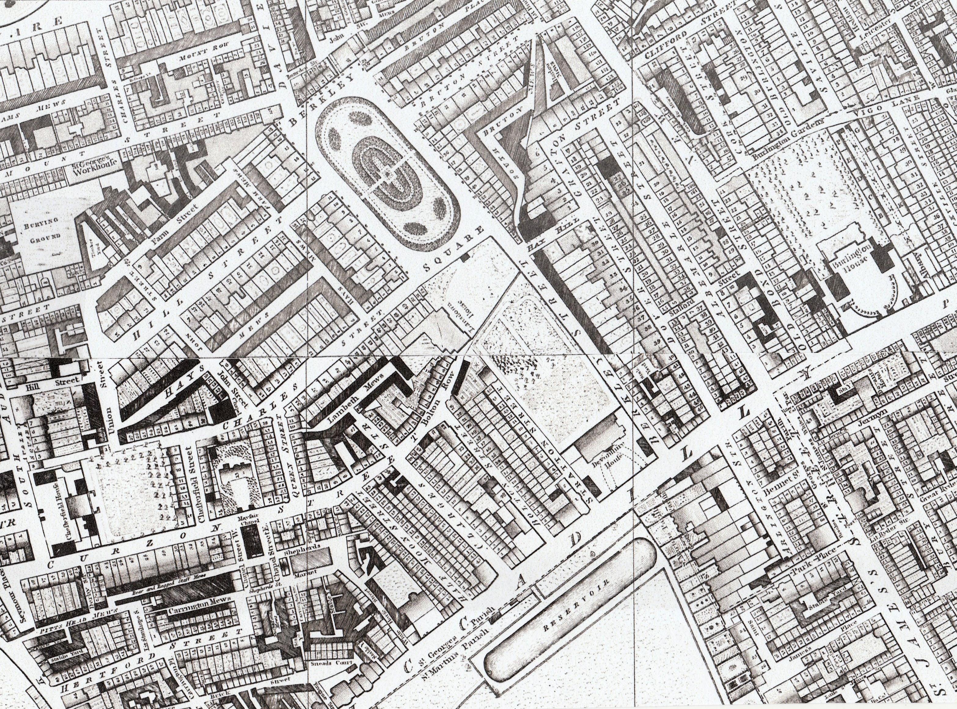 map-horwood