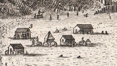 Scarborough bathing huts