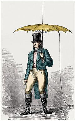 Umbrella_fitted_with_lightning_conductor